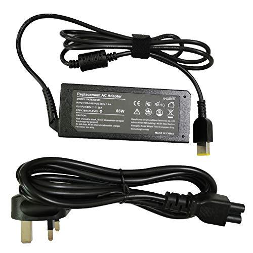 65W 20V 3.25A Laptop Charger for Lenovo Flex 2 Flex 3 Yoga 11 11S Lenovo Thinkpad T430 T440 T440S T440P T450 T460 T460S T540P T560 G50-45 G50-70 G50-80 Z50-70 Z50-75 0A36258 0B47030 0B47455 0B47481