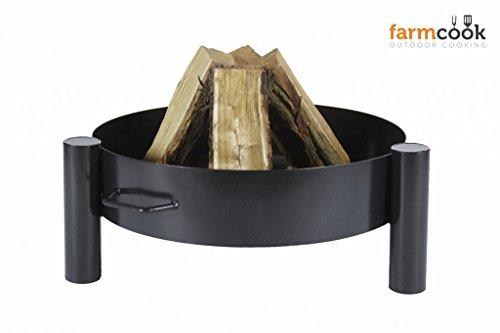 Farmcook Feuerschalen - Feuerkörbe Sortiment Verschiedene Modelle in 60-70-80 cm (Feuerschale 33, 80 cm)