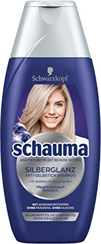 SCHWARZKOPF SCHAUMA Silberglanz Shampoo, 5er Pack (5 x 250 ml)