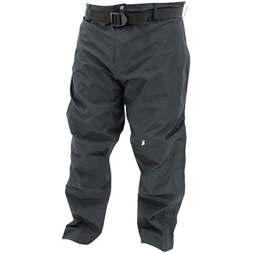 FROGG TOGGS Men's ToadSkinz HD Waterproof Breathable Rain Pant, Black, Large