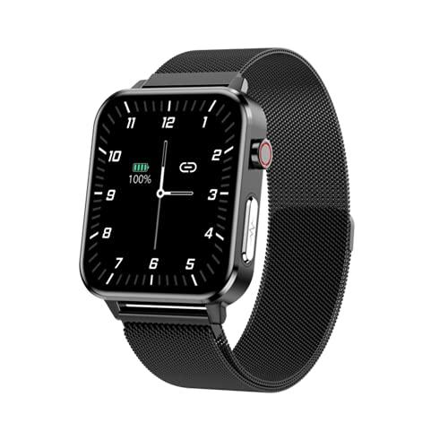 AKY E86 Smart Watch Ladies ECG Tasa del Corazón Presión Arterial Monitor De Sueño Pulsera Inteligente Pedómetro Deportes Pulsera Inteligente,C