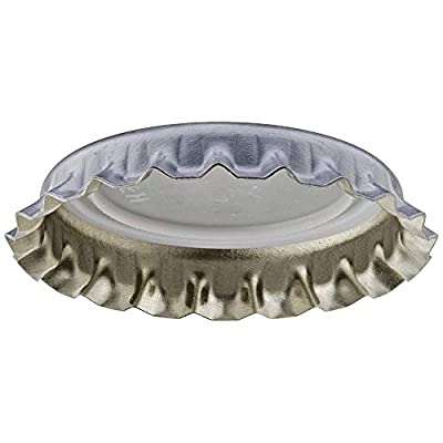 Silver Oxygen Barrier Crown Caps 144 Count