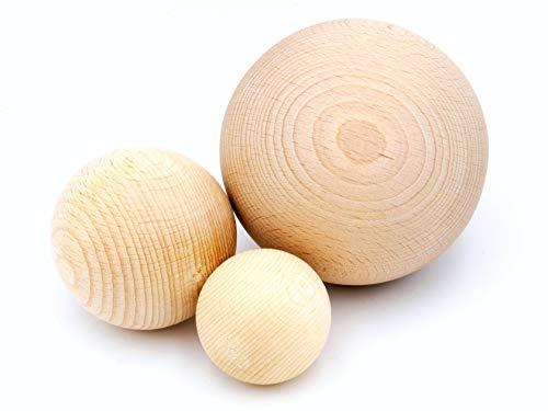 Jowe - Bola de madera de haya sin orificio, marrón