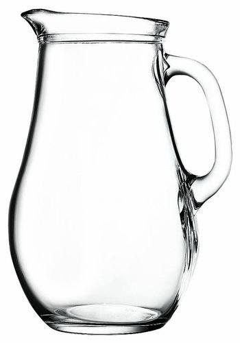Pasabahce Bistro 80119 - Krug Glaskrug Wasserkrug, 1.850 ml, ~2 Liter