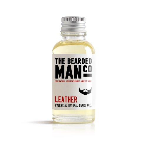Cuir le Bearded Homme Co Barbe Conditionneur d'huile Moustache mâle de toilettage 30 ml Plus Grande taille