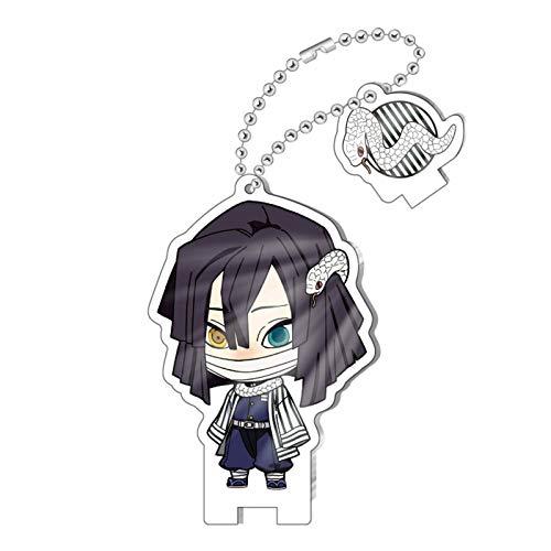 Ailin Online Llavero, diseño de personajes de demonio, anime cosplay Decora colgante para llaves, mochila, pantalones