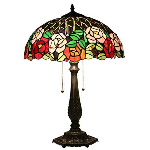 Beautiful lighting city/Tiffany Européenne Créative Lampe De Table De Luxe For Chambre Table De Chevet Hôtel Hôtel Tea House Club 16 Pouces