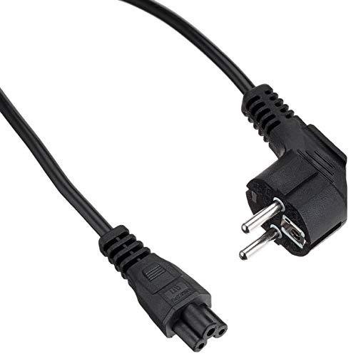 Preisvergleich Produktbild ACT Stromkabel-Netz CEE77 Schuko-C5 schwarz 2m (AK5144)