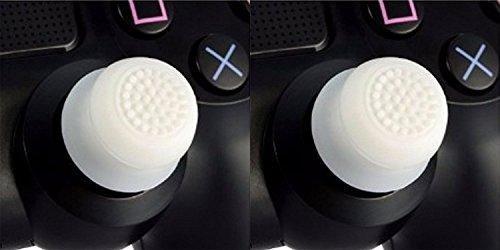 2x Analog erhöhte Antislip Daumen Stick Griff Thumbsticks Joystick Cap Abdeckung für PS4PS3Xbox 360& Xbox One Controller