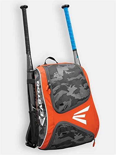 EASTON E110BP Bat & Equipment Backpack Bag, Orange