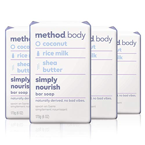 Method Experiential Bar Soap Simply Nourish 4 Count