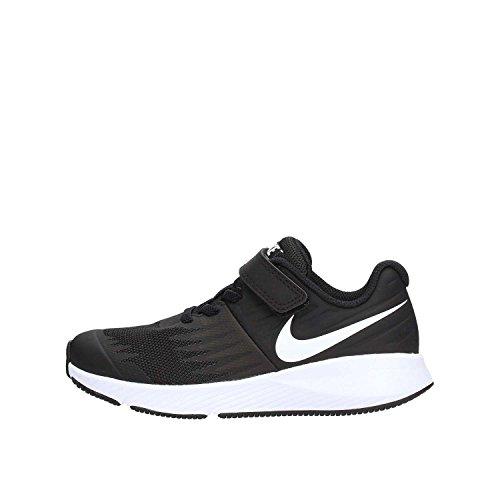Nike Star Runner (PSV) Laufschuhe, Schwarz (Black/White/Volt 001), 35 EU