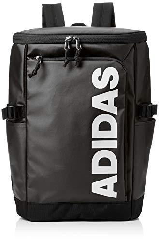 [アディダス] リュックサック MODEL.NO.57572 23L B4サイズ収納可 ユニセックス ボックス型 ブラック×ホワイト