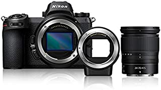 Nikon Z 6 Mirrorless Digital Camera with 24-70mm Lens and FTZ Mount Adapter