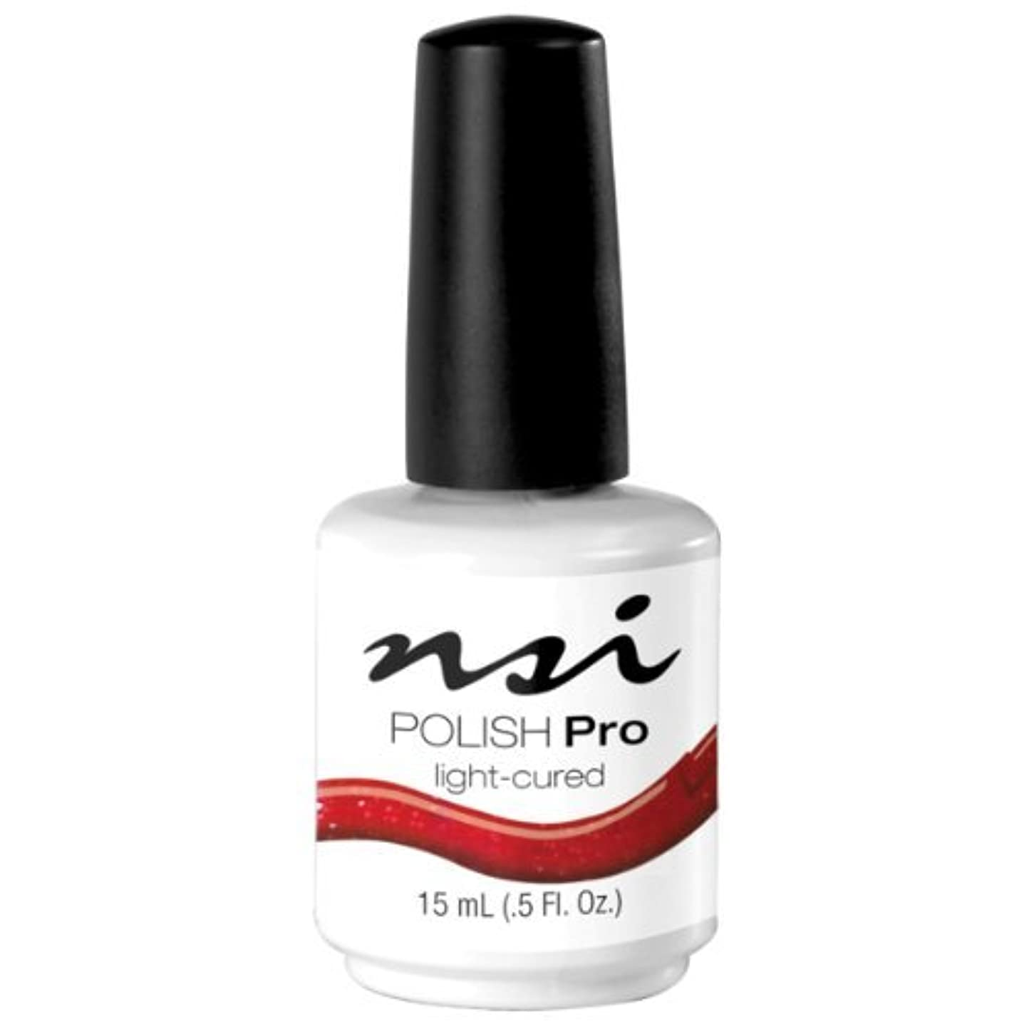 子供達赤ちゃんプラスNSI Polish Pro Gel Polish - Crimson - 0.5oz / 15ml