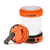 Die Preiswerteste Taschenlampe-Laterne Combo: Wenn gefaltet, ist die Größe nur von 50mm * 84,3mm, kann aber in eine Taschenlampe oder Laterne verwandelt werden. Immer wieder eine gute Wahl, um Ihren Rucksackplatz und Geld zu sparen. Einfach zu auflad...