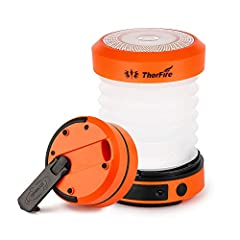 PORTABLE VERSATILE LIGHTS - These led lights can be used as flashlights or lanterns. Extended as a LED camping lantern; folded as a powerful mini flashlight, making it a portable multifunctional light. It's only 5.9 oz in weight, and foldable design ...