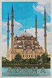 Adana: City Seyhan River Anatolia Turkey Planner Calendar Organizer Daily Weekly Monthly [Year Below]