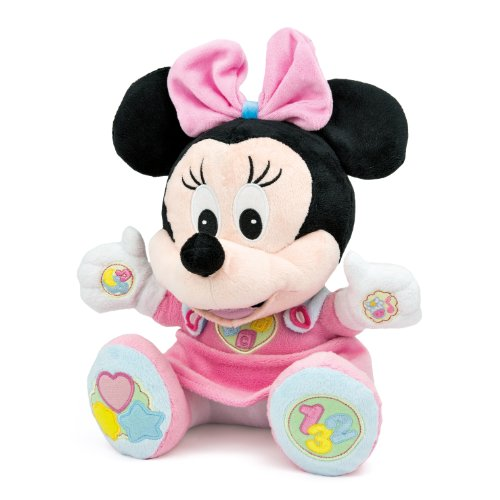 Clementoni- Disney Minnie Canta e Impara Parlante, Multicolore, 14678