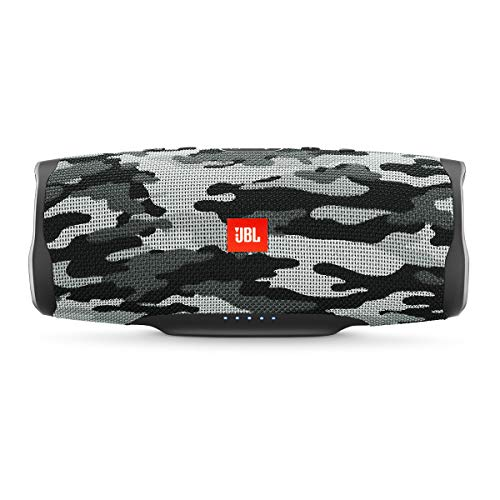 JBL Charge 4 Portable Bluetooth Speaker (Black Camouflage)