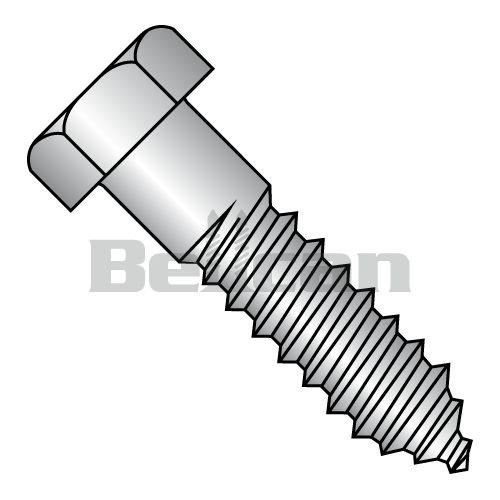 BC-1448L188 - Tornillo hexagonal de acero inoxidable (18-8, 1/4 x 3, 100 unidades)