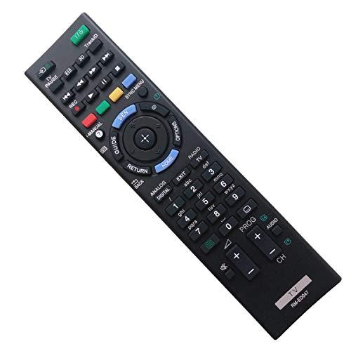 EAESE RM-ED047 Mando a Distancia para Sony Bravia Control Remoto Universal Smart TV KDL-32R300B KDL- 32BX320 KDL-46BX421 KDL-32BX321 KDL-32BX421 KDL-40BX420 KDL-40BX421 KDL-46BX420