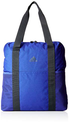 adidas Damen Training Core Schultertasche, Mystery Ink/Carbon, 17 x 38 x 44 cm
