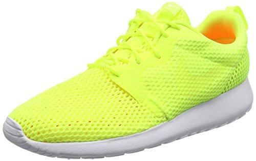 Nike Roshe One Hyperfuse Br, Scarpe Da Corsa Uomo, Giallo (Volt/Volt/White), 44 EU