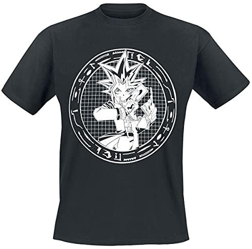 Yu-Gi-Oh! Character Männer T-Shirt schwarz M