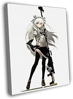 H5V6412 Chaika The Coffin Princess Hitsugi no Chaika Avenging Battle Rifle Anime Manga Art 50x40 FRAMED CANVAS PRINT