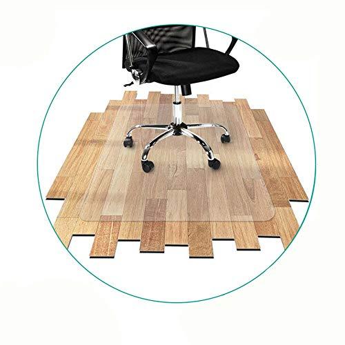NINGWXQ Bureaustoel Mat for Harde Vloeren Glad SCUFF-BESTENDIG Vloerbeschermende Matten, Tapijtbeschermer, 4 Diktes, Aanpasbaar (Color : 1.5mm, Size : 40 x 60 m)