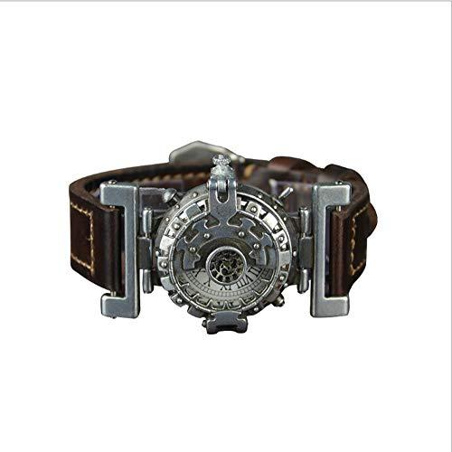 XINXIN Steampunk Antique Watch Männer und Frauen Persönlichkeits Quarz Drei-Nadel-Uhr