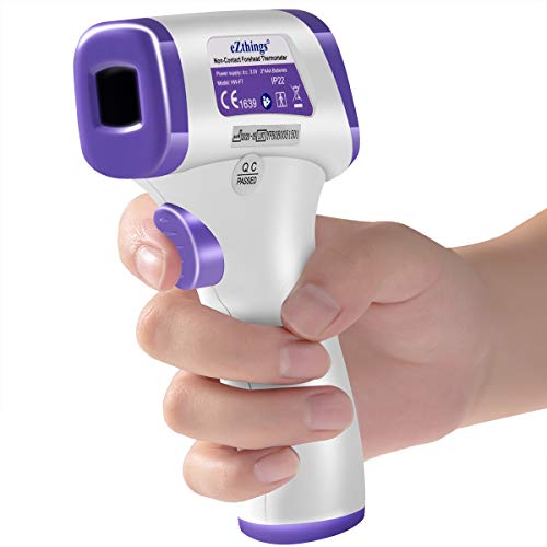 eZthings Heavy Duty Infrared Non-Contact Forehead Thermometer for Medical Offices, Hospitals