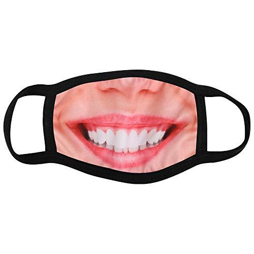 Shirt-Panda Stoffmaske · Gesichter und Masken · Mundschutz mit Motiv · Gesichtsmaske mit wechselbarem PM2.5 Filter · Mund- und Nasenschutz mit lustigen Motiven · Lächeln