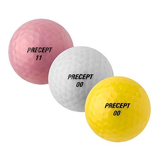 PEARL GOLF Precept Lady SIII - AAAA - AAA - bunt - gebrauchte Golfbälle - 25 Lake Balls