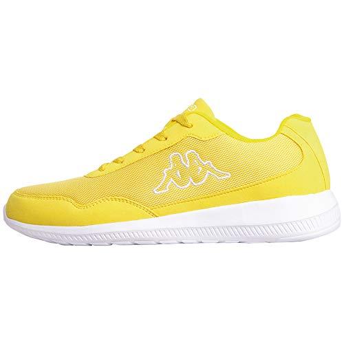 Kappa Follow NC, Zapatillas Hombre, Amarillo (Yellow/White 4010), 44 EU