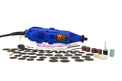 WEN 2307 Variable Speed Rotary Tool Kit with 100-Piece Accessories,Blue,Medium