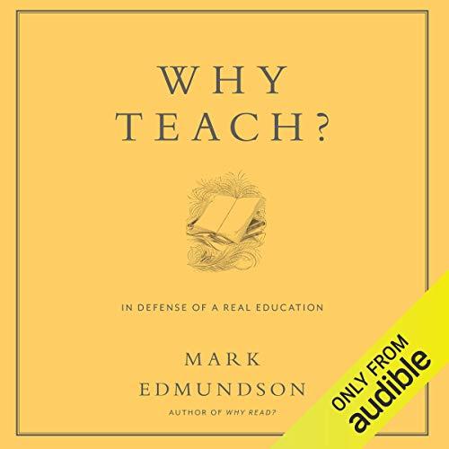 Why Teach? audiobook cover art