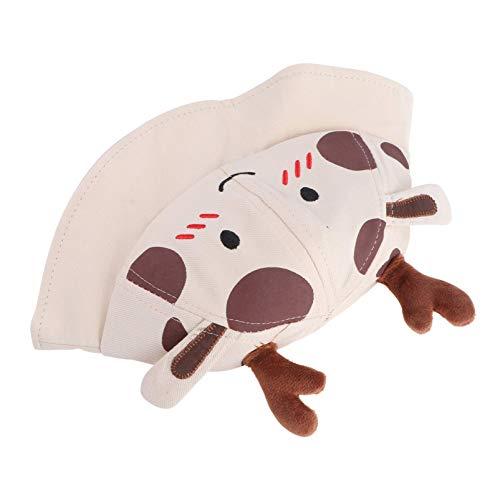 Kisangel Baby Sommer Sonnenhut Schöne Deer Stil Hut Baby Baumwolle Schirmmütze (Beige)