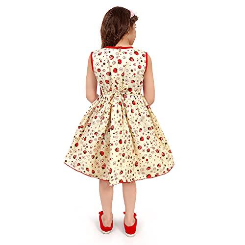 Kid Girl's Cotton Knee Dress