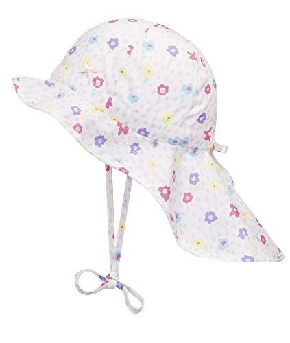 Döll Baby-Mädchen Nackenschutz Sonnenhut, Rosa (Pink Lady Rose 2720), 49