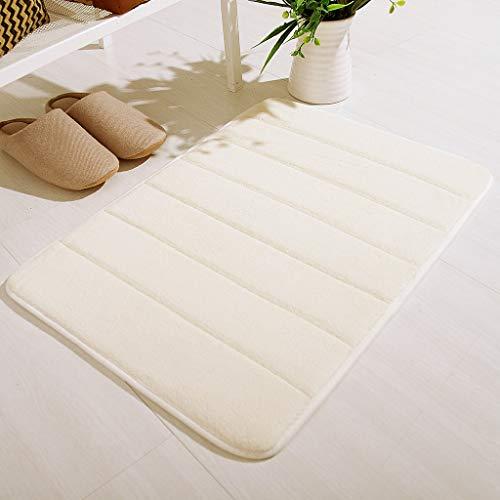 Antislip traagschuim badmat, douchemat, tapijt, slaapkamer, tapijt, deur, way voetmat, tapijt, absorberend, voetmat, slaapkamer, woonkamer, keuken hedendaags 40x60cm(17