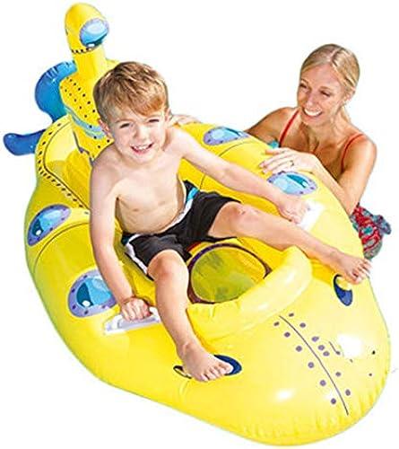 Aufblasbare Kinder der schwimmenden Reihe mit Griffwasserspielwaren, die das schwimmende Bett der schwimmenden Reihe des Schwimmenrings verdicken