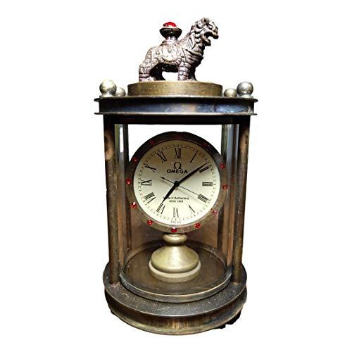 LAOJUNLU Old Collection of Omega Pure Copper Beast - Reloj mecánico de imitación antiguo