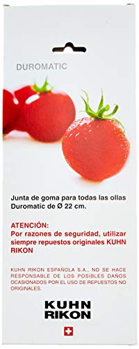 KUHN RIKON DUROMATIC - Junta para olla a presión de 22 cm