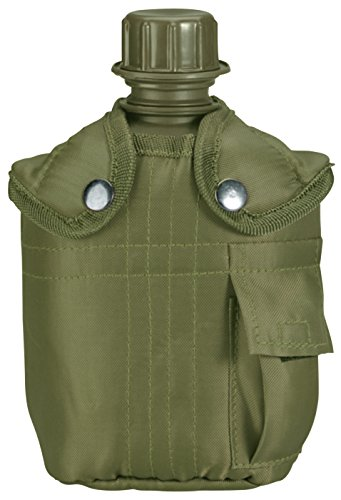 Rothco Canteen with Cover, Olive Drab