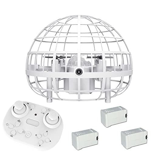 SKTE Drones de mano para adultos y niños, Smart Ufo Flying Balls, Mini Drones Interactivos, con luces LED, Control de gestos, Evitación automática de obstáculos