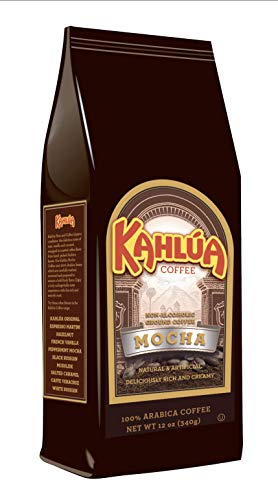 Kahlua Gourmet Ground Coffee, Mocha, 12 Ounce