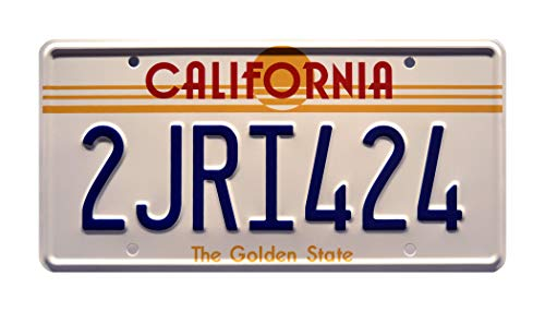 Celebrity Machines The Fast and the Furious | 2JRI424 | Stamped License Plate