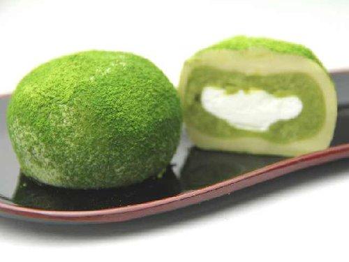 抹茶クリーム大福 6個入セット (抹茶×6)